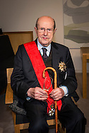 "Movie director Manoel de Oliveira receives de distinction of ""Grand Officier de la Légion d'Honneur"" by the French Ambassador in Portugal, Jean-François Blarel"