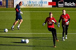 Jason Steele and Robbin Ruiter of Sunderland warm up - Mandatory by-line: Matt McNulty/JMP - 10/08/2017 - FOOTBALL - Gigg Lane - Bury, England - Bury v Sunderland - Carabao Cup - First Round
