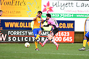 Northampton Town defender Brendan Moloney during the Sky Bet League 2 match between Mansfield Town and Northampton Town at the One Call Stadium, Mansfield, England on 28 March 2016. Photo by Jon Hobley.