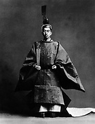 Hirohito (1901-1989) 124th Emperor of Japan 1926-1989. The Emperor during his coronation ceremony, dressed in the robes of the Shinto high priest of, the religion of the state.
