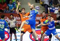 14-04-2019 SLO: Qualification EHF Euro Slovenia - Netherlands, Celje<br /> Vid Kavticnik of Slovenia during handball match between National teams of Slovenia and Netherlands in Qualifications of 2020 Men's EHF EURO