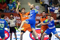 14-04-2019 SLO: Qualification EHF Euro Slovenia - Netherlands, Celje<br /> Vid Kavticnik of Slovenia during handball match between National teams of Slovenia and Netherlands in Qualifications of 2020 Men's EHF EURO