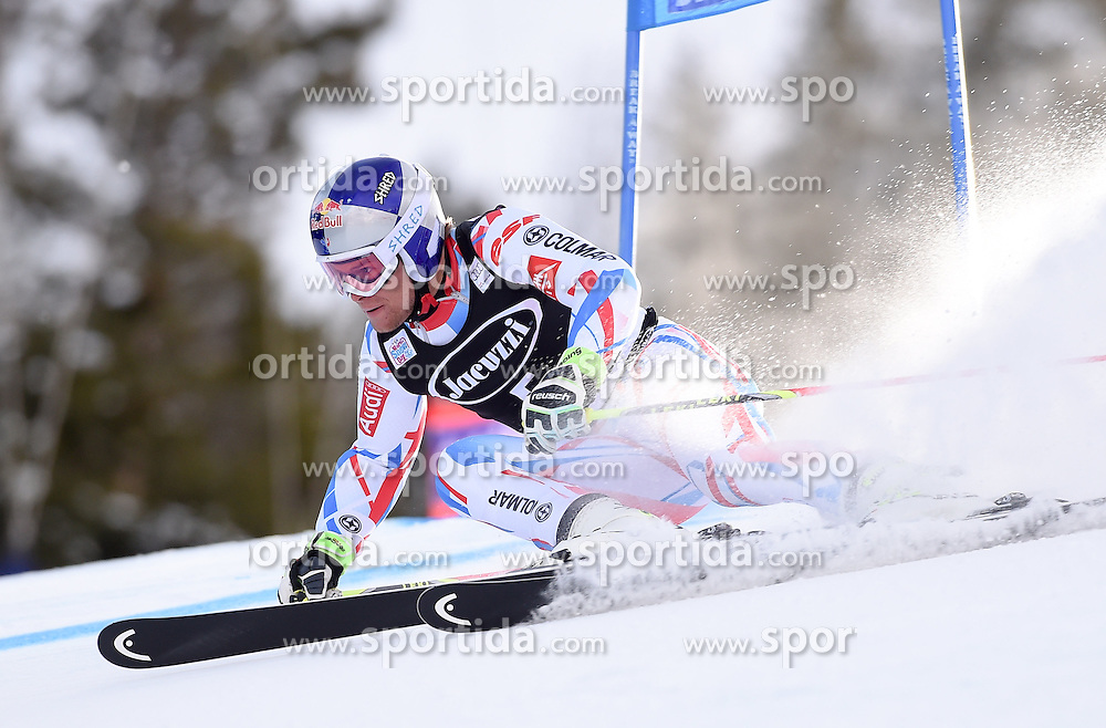 06.12.2015, Birds of Prey Course, Beaver Creek, USA, FIS Weltcup Ski Alpin, Beaver Creek, Riesenslalom, Herren, 1. Lauf, im Bild Alexis Pinturault (FRA) // Alexis Pinturault of France during the first run of mens Giant Slalom of the Beaver Creek FIS Ski Alpine World Cup at the Birds of Prey Course in Beaver Creek, United States on 2015/12/06. EXPA Pictures © 2015, PhotoCredit: EXPA/ Erich Spiess