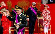 BRUSSEL prins Laurent prineses claire en koning filip en koningin mathilde tijdens de nationale feestdag De Belgische prins Laurent stapt naar de Raad van State van zijn land om beroep aan te tekenen tegen de beslissing om zijn toelage met 15 procent te verlagen.