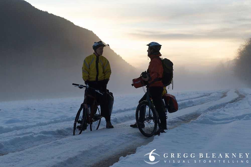 Winter Bicycle Tour - Olympic National Park - Washington State