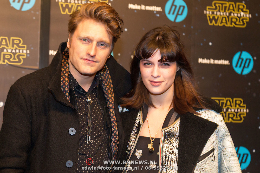 NLD/Amsterdam/20151215 - première van STAR WARS: The Force Awakens!, Micha Hulshof