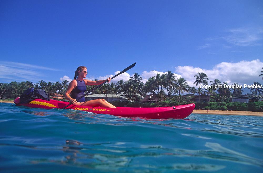 Kayaking, Hawaii<br />