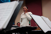 Color Purple Sitzprobe at Carroll Music in Manhattan, NY. <br /> 10/27/2005 Photo by Jennifer S. Altman