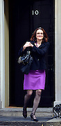 © Licensed to London News Pictures. 11/09/2012. Westminster, UK Secretary of State for Northern Ireland - Theresa Villiers MP's arrive for Cabinet at number 10 Downing Street today 11/09/12. Photo credit : Stephen Simpson/LNP