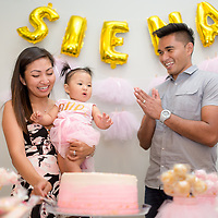 Siena's 1st Birthday