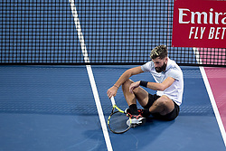 February 6, 2019 - Montpellier, France, FRANCE - deception de Benoit Paire  (Credit Image: © Panoramic via ZUMA Press)