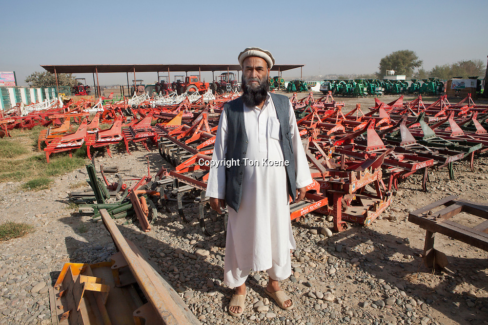 Agricultural equipment sales office in Kunduz, Afghanistan