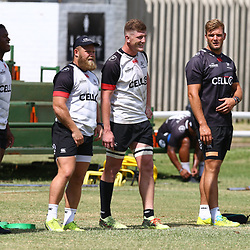 DURBAN, SOUTH AFRICA - JANUARY 19: General views during the Cell C Sharks training session at Growthpoint Kings Park on January 19, 2018 in Durban, South Africa. (Photo by Steve Haag/Gallo Images)
