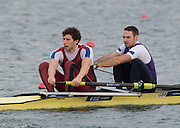 Caversham, United Kingdom. Left, Matt TARRANT and Nathaniel REILLY-O'DONNELL, 2015 GBRowing Team, December Trials at the Training Base Nr Reading.<br /> <br /> Saturday  19/12/2015<br /> <br /> [Mandatory Credit; Peter SPURRIER/ntersport Images] [Mandatory Credit; Peter SPURRIER/Intersport Images]