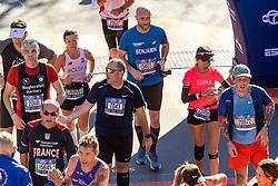 04-11-2018 USA: 2018 TCS NYC Marathon, New York<br /> Race day  TCS New York City Marathon / Benjamin