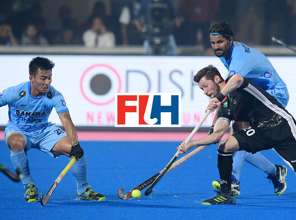 Odisha Men's Hockey World League Final Bhubaneswar 2017<br /> Match id:10<br /> India v Germany<br /> Foto: Martin Zwicker (Ger) <br /> WORLDSPORTPICS COPYRIGHT FRANK UIJLENBROEK