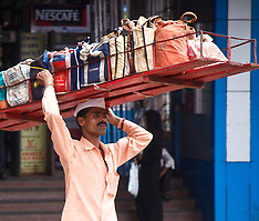 Dabbawallas, Tiffin Carriers, Mumbai, India