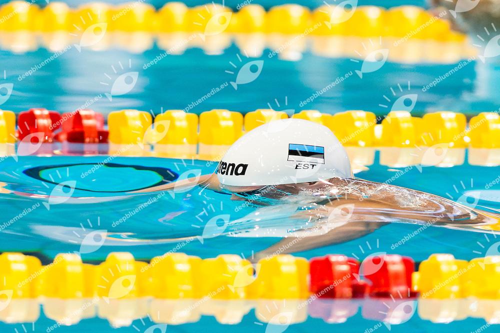 LIIVAMAEGI Martin EST<br /> 200m Breaststroke Men Heats<br /> Netanya, Israel, Wingate Institute<br /> LEN European Short Course Swimming Championships Dec. 2 - 6, 2015 Day01 Dec.02<br /> Nuoto Campionati Europei di nuoto in vasca corta<br /> Photo Giorgio Scala/Deepbluemedia/Insidefoto