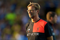 BURTON-UPON-TRENT, ENGLAND - Tuesday, August 23, 2016: Liverpool's manager Jürgen Klopp before the Football League Cup 2nd Round match against Burton Albion at the Pirelli Stadium. (Pic by David Rawcliffe/Propaganda)