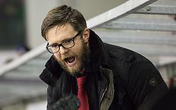 Dejan Varl, head coach of Jesenice during ice hockey match between HDD Telemach Olimpija and HDD SIJ Acroni Jesenice in Final of Slovenian League 2015/16, on April 11, 2016 in Hala Tivoli, Ljubljana, Slovenia. Photo by Vid Ponikvar / Sportida