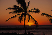 Sunset, Poipu, Kauai, Hawaii<br />