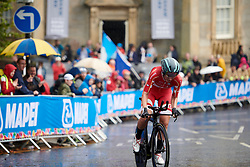 Julie Leth (DEN) at UCI Road World Championships 2019 Mixed Relay a 27.6 km team time trial in Harrogate, United Kingdom on September 22, 2019. Photo by Sean Robinson/velofocus.com