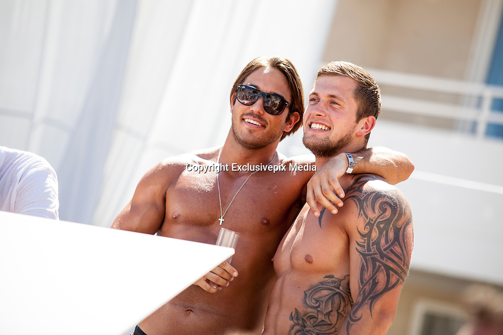 EXCLUSIVE<br /> 'James Lock and Dan Osborn - Pool Star Party BH Mallorca'<br /> &copy;Exclusivepix Media