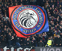 March 5, 2018 - London, United Kingdom - Crystal Palace Banner.during the Premiership League  match between Crystal Palace and Manchester United at Selhurst Park Stadium in London, England on 05 March 2018. (Credit Image: © Kieran Galvin/NurPhoto via ZUMA Press)
