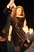 Diane Von Furstenberg at The 2009 Diane Von Furstenbeg Fall Fashion Show held at the Tent in  Bryant Park in New York City, NY