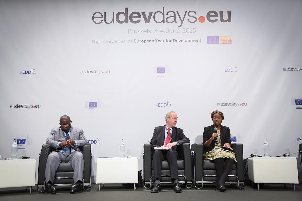 03 June 2015 - Belgium - Brussels - European Development Days - EDD - Food - Feeding the planet together © European Union
