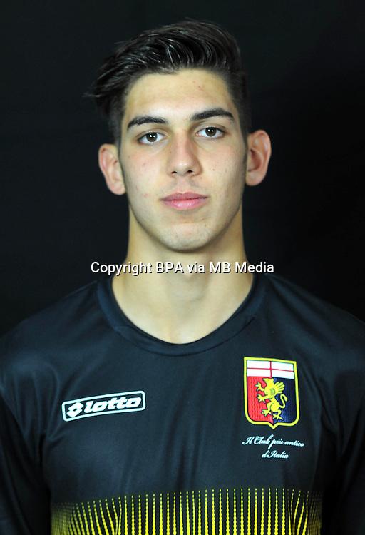 Italian League Serie A -2014-2015 / <br /> ( Genoa  CFC  ) - <br /> Daniele Sommariva