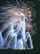 Fireworks display by Atlas Pyrovision in Jaffrey NH.