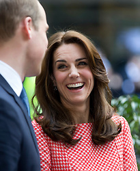 LONDON - UK - 11th Mar 2016: The Duke and  Duchess of Cambridge, Prince William and Kate, arrive at XLP at London Wall to visit the headquarters of the mentoring network they support.<br /> Photograph by Ian Jones.