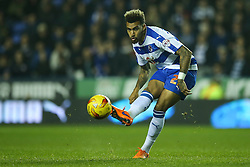 Daniel Williams of Reading - Mandatory byline: Jason Brown/JMP - 07966 386802 - 03/11/2015- FOOTBALL - Madejski Stadium - Reading, England - Reading v Huddersfield Town - Sky Bet Championship