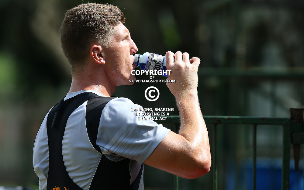DURBAN, SOUTH AFRICA - JANUARY 20: Jacques Vermeulen during the Cell C Sharks training session at Growthpoint Kings Park on January 20, 2017 in Durban, South Africa. (Photo by Steve Haag/Gallo Images)