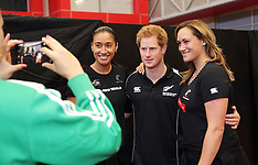 Auckland-Prince Harry visits AUT Millennium Institute