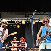 Broken Social Scene perform at the 2010 Pitchfork Music Festival in Chicago, IL.