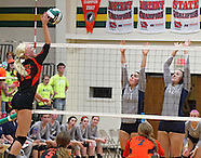 High School Volleyball - West Delaware vs Cedar Rapids Xaver - November 5, 2013