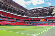 General Stadium view during the Vanarama National League Play Off Final match between Tranmere Rovers and Forest Green Rovers at Wembley Stadium, London, England on 14 May 2017. Photo by Shane Healey.