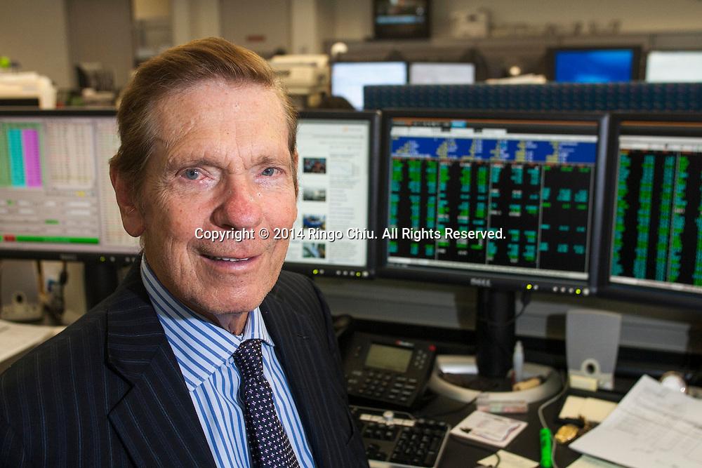 Edward Wedbush, founder and president at Wedbush Securities.(Photo by Ringo Chiu/PHOTOFORMULA.com)