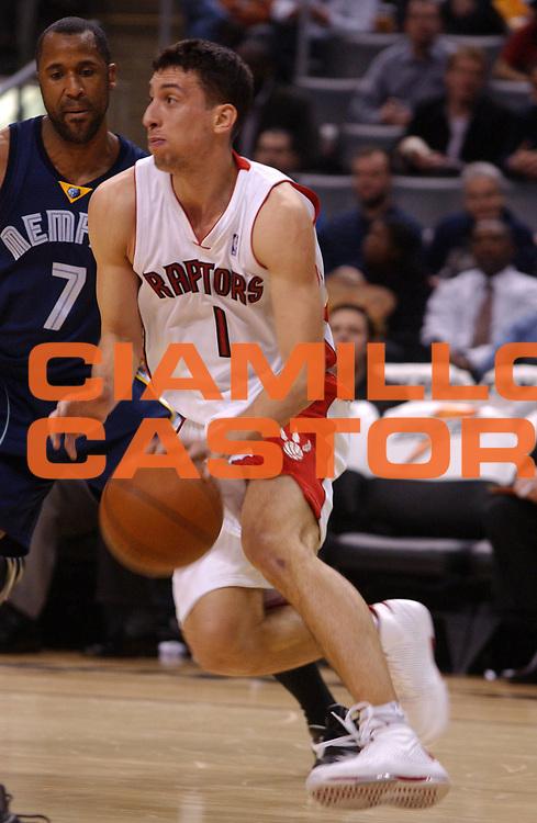 DESCRIZIONE : Toronto Campionato NBA 2008-2009 Toronto Raptors Memphis Grizzlies<br /> GIOCATORE : Roko Ukic<br /> SQUADRA : Toronto Raptors Memphis Grizzlies<br /> EVENTO : Campionato NBA 2008-2009 <br /> GARA : Toronto Raptors Memphis Grizzlies<br /> DATA : 09/01/2009<br /> CATEGORIA : palleggio<br /> SPORT : Pallacanestro <br /> AUTORE : Agenzia Ciamillo-Castoria/V.Keslassy<br /> Galleria : NBA 2008-2009<br /> Fotonotizia : Toronto Campionato NBA 2008-2009 Toronto Raptors Memphis Grizzlies<br /> Predefinita :