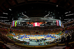 Arena Spodek before the EuroBasket 2009 Quaterfinals match between Russia and Serbia, on September 17, 2009 in Arena Spodek, Katowice, Poland.  (Photo by Vid Ponikvar / Sportida)