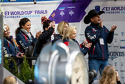 Perry-Glass Kasey, USA, Goerklintgaards Dublet<br /> LONGINES FEI World Cup™ Finals Gothenburg 2019<br /> © Hippo Foto - Stefan Lafrentz<br /> 05/04/2019