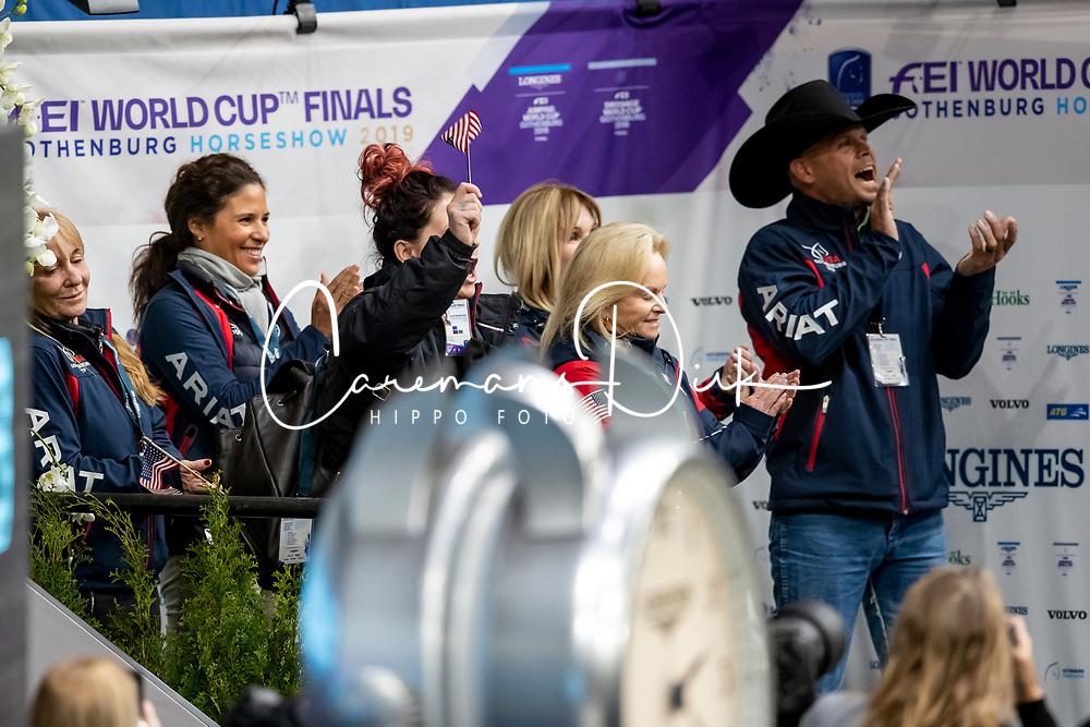 Perry-Glass Kasey, USA, Goerklintgaards Dublet<br /> LONGINES FEI World Cup™ Finals Gothenburg 2019<br /> © Hippo Foto - Stefan Lafrentz<br /> 05/04/2019
