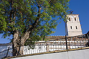 Small Spanish church in village of Cogollo Vegas, municipality of Granada, Spain, Andalucia.
