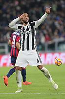 26.11.2017 - Torino - Serie A 2017/18 - 14a giornata  -  Juventus-Crotone nella  foto: Medhi Benatia esulta dopo il gol del 3  a 0