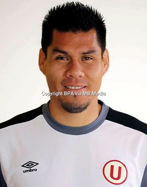 Football - Peruvian League Descentralizado - <br /> Movistar Trophy 2016 - Abertura Tournament / <br /> Club Universitario De Deportes Lima - <br /> Hernan Rengifo