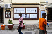 The Freddie Mercury museum, Stone Town, Zanzibar. The first-ever museum dedicated to the world legend Freddie Mercury, located in Shangani, in the heart of Zanzibar Stone Town was officially opened on Sunday the 24th of November 2019 to commemorate the 28th anniversary of the passing of the beloved rock music legend Freddie Mercury. (photo by Andrew Aitchison / In pictures via Getty Images)