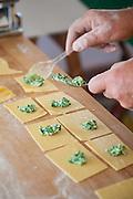 Spinach & Ricotta Tortellini, Emilia-Romagna, Italy