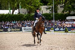 Schmidt Hubertus (GER), Escolar<br /> Balve - Longines Optimum 2019<br /> LONGINES Grosser Optimum Preis<br /> Deutsche Meisterschaft Dressur<br /> Grand Prix Kür<br /> 16. Juni 2019<br /> © www.sportfotos-lafrentz.de/Stefan Lafrentz